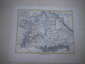 Bayern, Württemberg, Baden, die FürstentghümerHohenzollern Sigmaringen u. Hechingen
