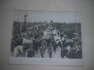 In Venezien. Verbündete Truppen auf dem Wege nach Udine-Codroipo.: Pressefoto/ Propagandafoto/...