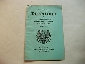 Rede am Friederiken-Grab Meißenheim am 27. Sept.: Oestering, W.E.