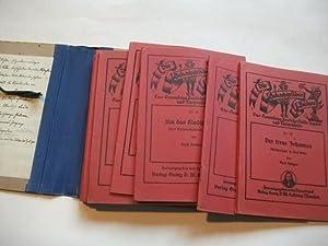 Sammlung deutscher Volks-Jugend- und Puppenspiele. 9 Nummern.: Dürerbund (Hg.)