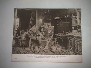 Militärischer Erfolg feindlicher Bombenangriffe auf das deutsche Heimatgebiet. Verwüstete...