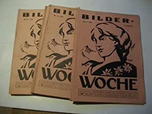 Illustrierte Versicherungs-Zeitschrift. Sammlung von 19 Heften.: Bilder-Woche