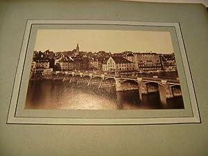 Brücke über den Rhein.: Basel.