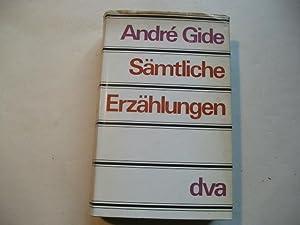 Sämtliche Erzählungen.: Gide, Andre