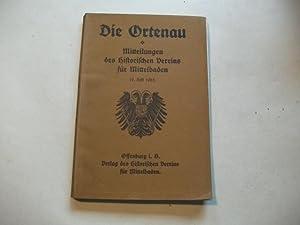 Veröffentlichungen des Historischen Vereins für Mittelbaden.: Die Ortenau