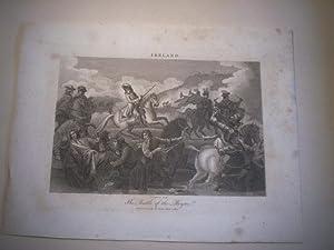 The battle of the Boyne. Ireland.