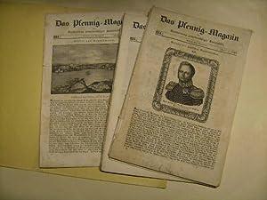 Pfennig-Magazin für Verbreitung gemeinnütziger Kenntnisse. Sammlung von 12 Heften.