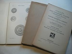 Siegel der badischen Städte in chronologischer reihenfolge.: Badische Historische Kommission (...