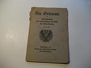 Die Ortenau: Mitteilungen des Historischen Vereins für Mittelbaden.