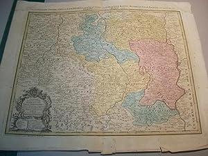 Propriae Lugudunensis Generalitatis Mappa Chorographica: Landkarte