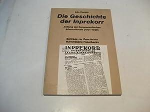 Die Geschichte der Inprekorr. Zeitung der Kommunistischen Internationale (1921-1939).: Komjat, Iren
