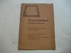 Heinrich Schickhardt der Erbauer Freudenstadts. Gedächtnisfeier anläßlich seines ...