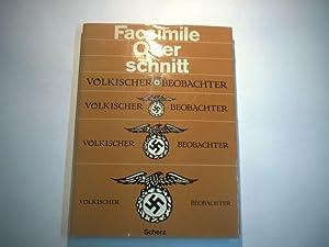 Facsimile Querschnitt durch den Völkischen Beobachter.: Noller, Sonja u. Kotze, Hildegrad v. (...