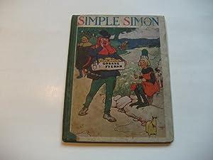 Simple Simon and other nursery rhymes.: Adams, Frank