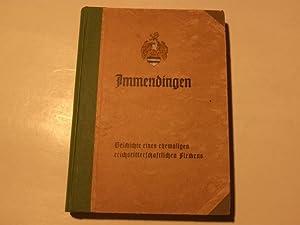 Immendingen. Geschichte eines ehemaligen reichsritterschaftlichen Fleckens.: Baumann, Wilhelm