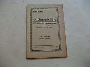 Dr. Bernhard Jülg. Eine Biographie.: Heizmann, Ludwig