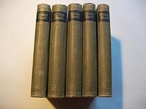 Oscar Wildes Werke in fünf Bänden.: Wilde, Oscar