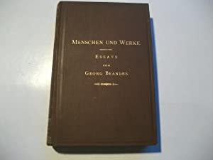 Menschen und Werke. Essays.: Brandes, Georg
