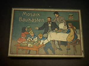 Mosaik Baukasten. Geseztlich geschützt.