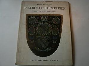 Bäuerliche Stickereien aus der Winser Epbmarsch.: Zieting, Annemarie