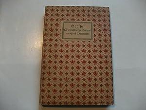 Goethe, der Straßburger Student.: Traumann, Ernst