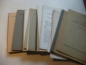 von ca. 28 Schriften, geologische Abhandlungen meist zum Schwarzwald.: Konvolut