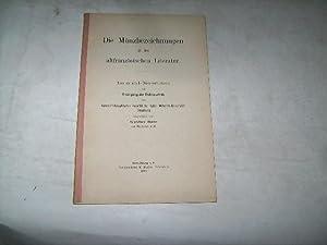 Die Münzbezeichnungen in der altfranzösischen Literatur.: Belz, Gustav