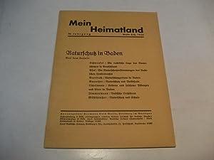 Mein Heimatland. Naturschutz in Baden.: Busse, Hermann Eris