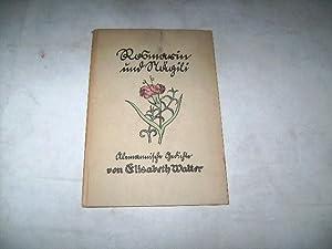 Rosmarin und Nägili. Alemannische Gedichte. Mundart vom Hotzenwald.: Walter, Elisabeth