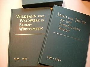 125 Jahre jagdliche Organisation in Baden und Württemberg 1875 -2000. 2 Bände.: Jagd- ...