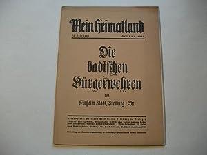 Mein Heimatland. Badische Heimat. Zeitschrift für Volkskunde, ländliche Wohlfahrtspflege,...