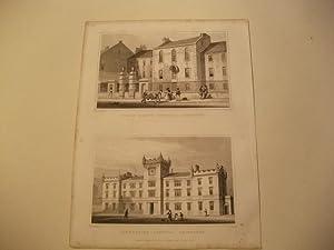 Trades' Maiden hospital u. Gillespie's Hospital.: England, Edinburgh.