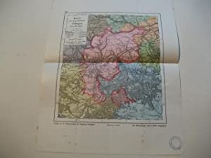 Karte von dem Oberamt Tübingen.: Bauser, G. Wilh.