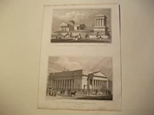 The New Oberservatory, and Playfair's Monument, Calton Hill u. Royal Institution, or School of...