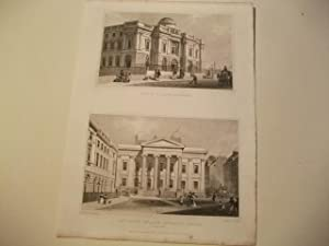 Bank of Scotland u. New Counts Hall and Advocate's Library.: England, Edinburgh.