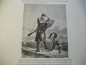 Renchtal. Jäger mit Hund.: Lallemand, Charles