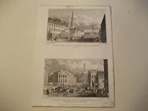 George Street, St. Andrew's Church, & Ld. Melville's Monument u. Waterloo Place, the ...