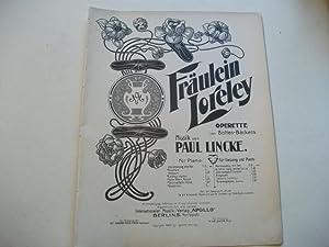 Fräulein Lorely.: Lincke, Paul