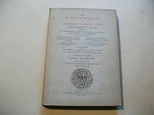 Die Kunstdenkmäler des Grossherzogthums Baden. Beschreibende Statistik. Vierter Band. Kreis ...