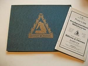 Kunstgewerbliche Metallwaren. Katalog Nr. 38.: Katalog.