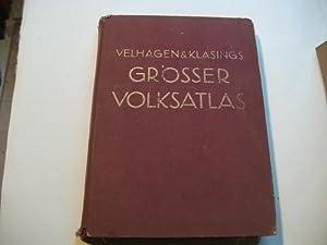 Grosser Volks-Atlas. Das Jubiläumswerk des Verlages zu seinem hundertjährigen Bestehen.: ...