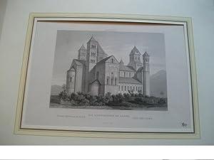 Die Abteikirche zu Lach.