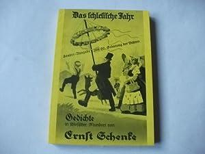 Schenke Schlesische Gedichte Zvab