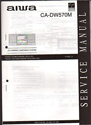 Aiwa CD Carry Component System CA-DW570M Boombox: Aiwa Service
