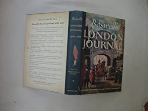 Boswell's London Journal 1762 - 1763: Pottle, Frederick A.