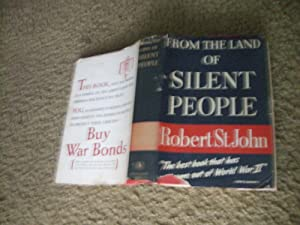 From the Land of Silent People: St, John, Robert