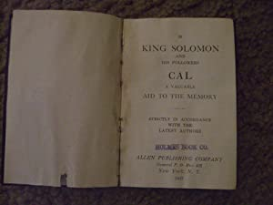 King solomon his followers abebooks 38 king solomon and his followers cal fandeluxe Gallery