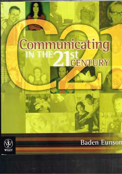 critical review of baden eunson s communication