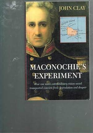 Maconochie's Experiment: Clay, John