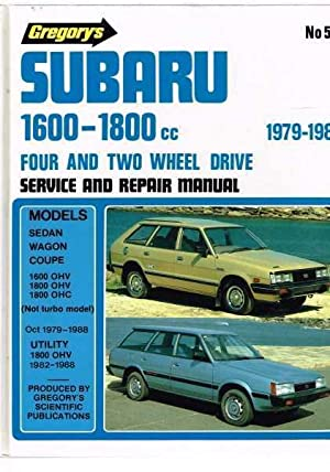 subaru 1600 1800cc abebooks rh abebooks com gregory's car manuals online free gregory's car manuals online free